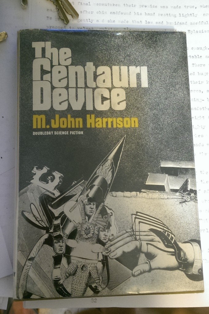 Fantastic 70s cover art for M. John Harrison, The Centauri Device
