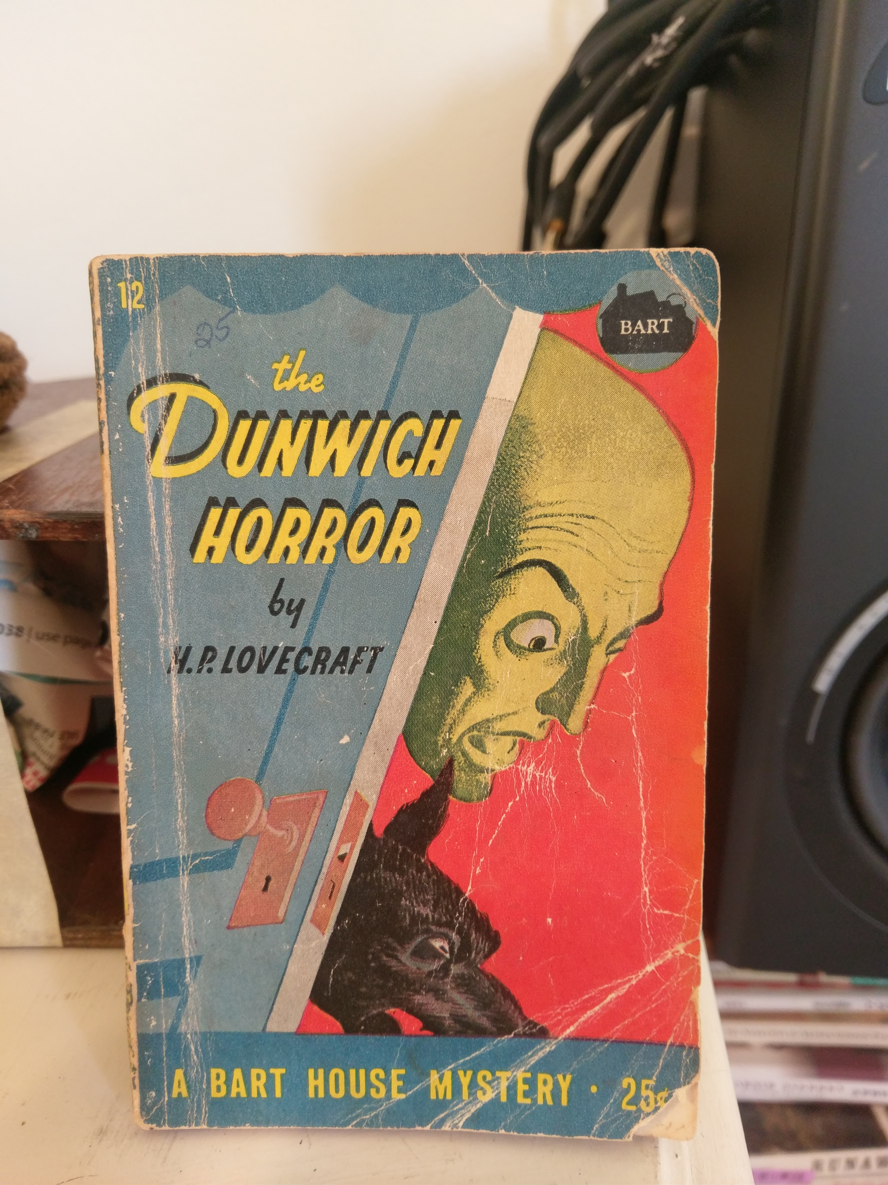 Dunwich Horror and Others, by Bart House, 1945